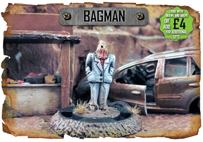 Bagman - A conman and swindler wangles his way into every pledge of Brawl and above for free!