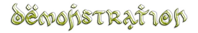 Tolkein-esque font example
