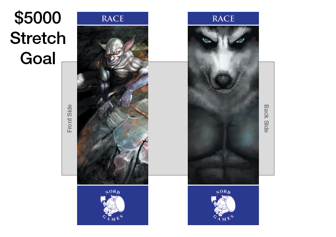 New Race Bookmark with new Artwork and Navy Blue Border Added to Player Pack (UNLOCKED)