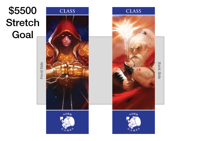 New Class Bookmark with new Artwork and Navy Blue Border Added to Player Pack (UNLOCKED)