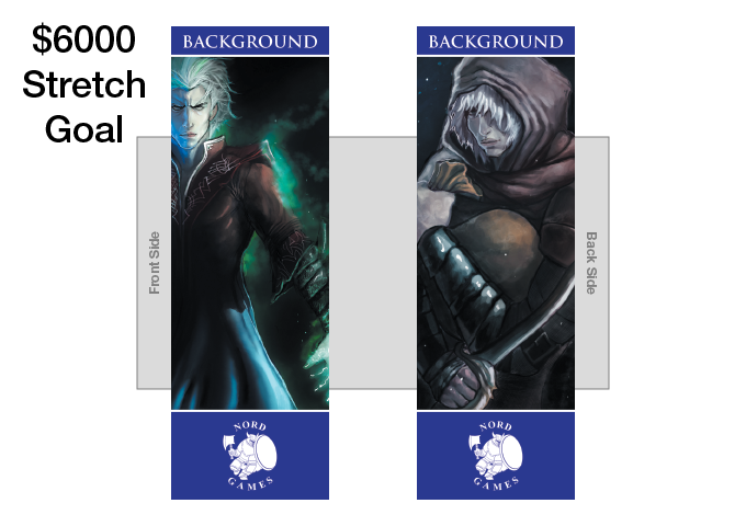 New Background Bookmark with new Artwork and Navy Blue Border Added to Player Pack (UNLOCKED)