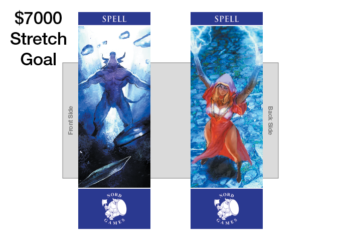 New Spell Bookmark with new Artwork and Navy Blue Border Added to Player and GM Pack (UNLOCKED)