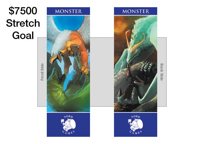 New Monster Bookmark with new Artwork and Navy Blue Border Added to GM Pack (UNLOCKED)