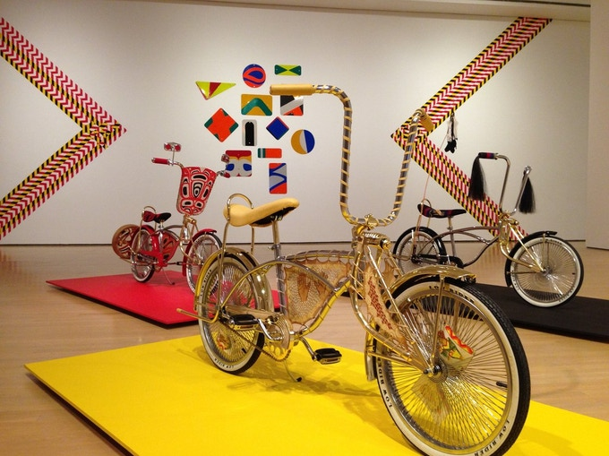 Inaugural Artist in Residence, Dylan Miner, will work with intergenerational Indigenous community members to construct low-rider bicycles while sharing histories that speak about Colonialism. Photograph by: David Sommerstein