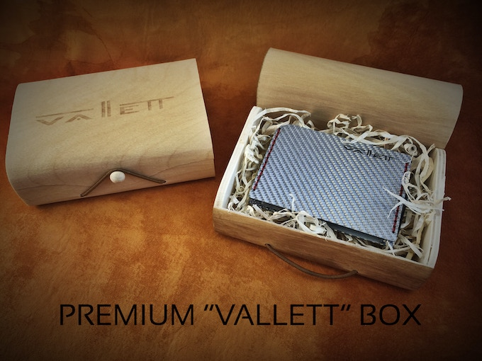 We want our product to be presentable.  That is why we created the PREMIUM WOODEN VALLETT BOX.  Great as a gift or even have one for yourself!