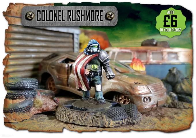 Colonel Rushmore, patriot and outcast - available as an add on!