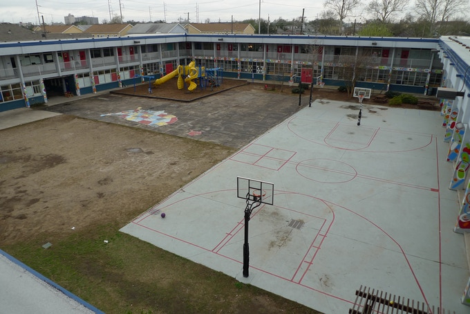 Courtyard/ Playground today