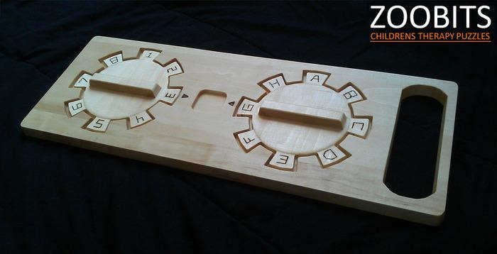 Children's Therapy Puzzles for disabilities, autism and special needs to help build fine and gross motor skills.