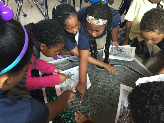 Ripple Effect science curriculum in a KIPP Central City Primary classroom