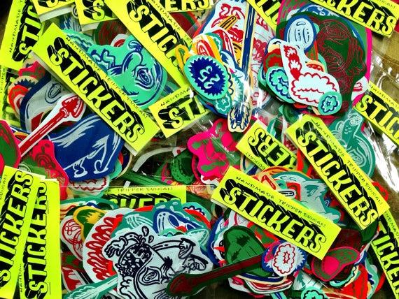 Sticker packs reward