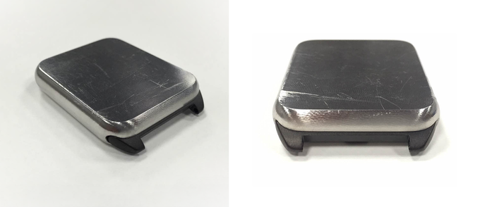 Space Gray adapter for Space Gray Aluminum Apple watch