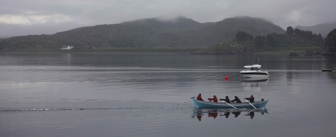 World Environment Day 2014 - towing litter off Isle Martin for recycling