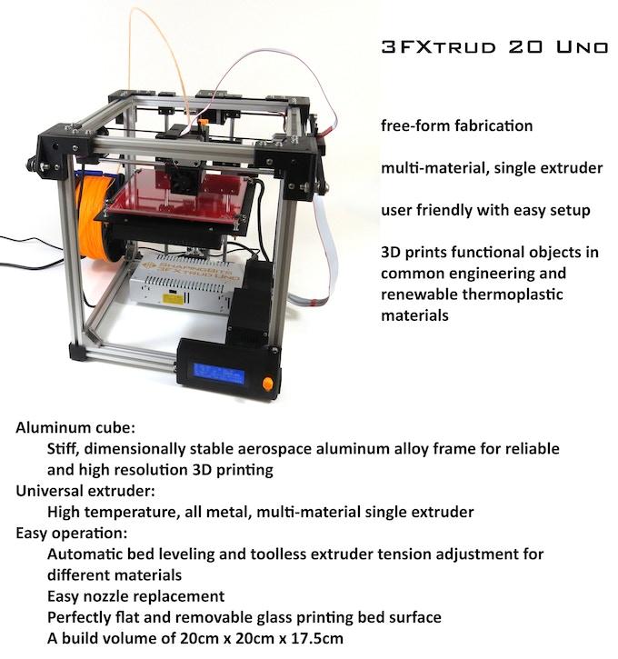 ShapingBits 3FXtrud 20 Uno