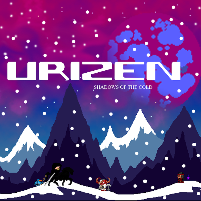 This is Urisis The Darkthrone, a one man mission to bring retro to an epic level, for the OUYA game console.  Yes! Now renamed Urizen Shadows of the Cold, so it's officially super epic!