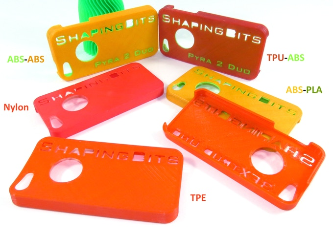 Multi-material iPhone cases by ShapingBits