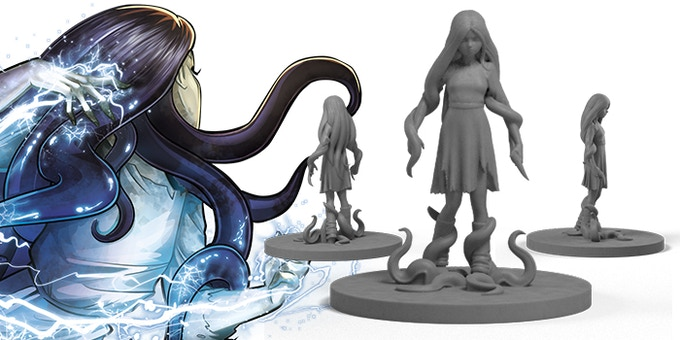 Yurei, the sorceress from the depths - Role: Wizard