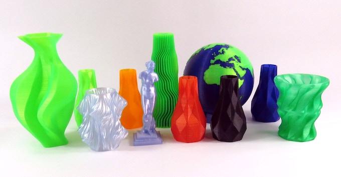 Renewable PLA 3D prints for model prototyping