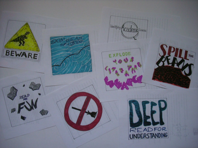 some initial sketches for the Writing by Pictures blog (some of these will be featured on the postcard rewards)