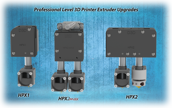 Professional Upgrades for consumer 3D printers to maximize speed & performance.