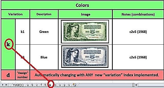 """variation """"k"""" -"""" Colors"""""""