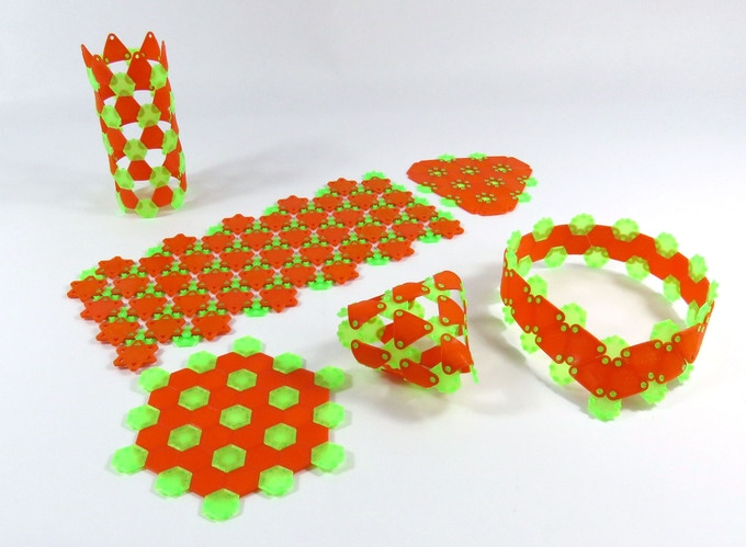 Free form design, rubbery and hard material mixing with ShapingBits 3FXtrud