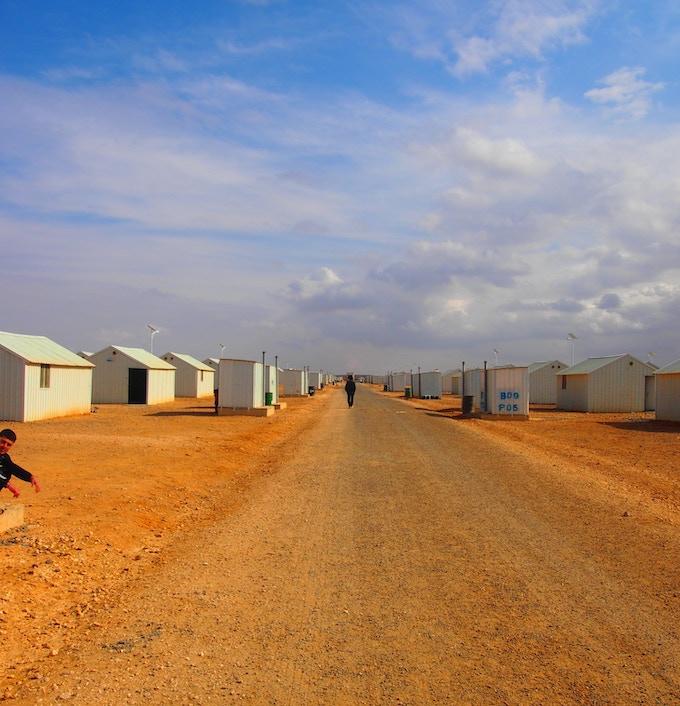 Azraq Syrian Refugee Camp, Jordan, Bidna Capoeira