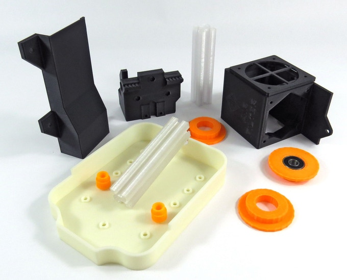 High temperature (PC), high strength (PC-ABS), and high impact (ABS) technical parts by ShapingBits