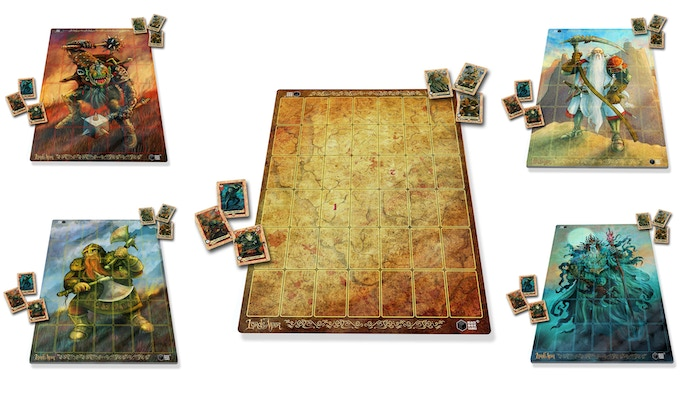 The 5 Custom Lords of War Battle Mats currently available at retail