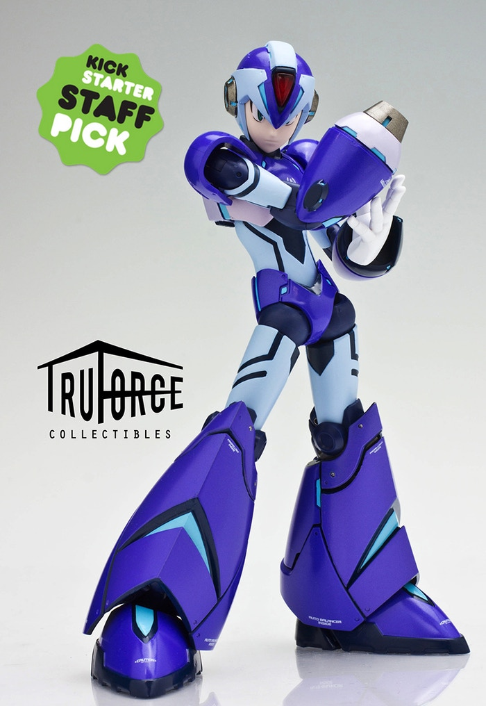 TruForce Collectibles: Mega Man X Action Figure by TruForce