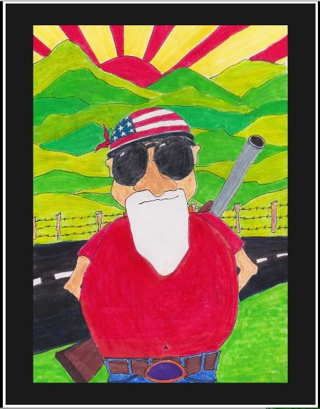 'Redneck' Copyright Glen Graham