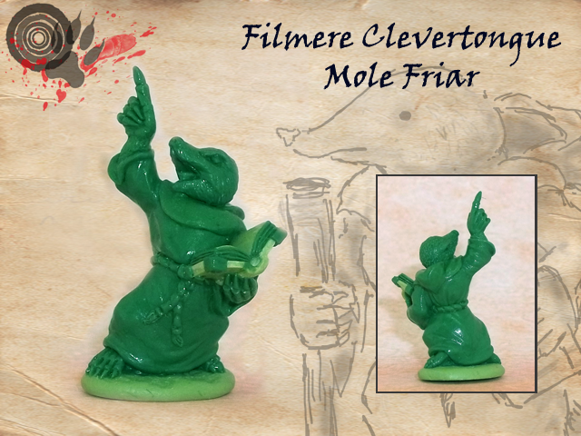 Mole approx. 24mm to top of head