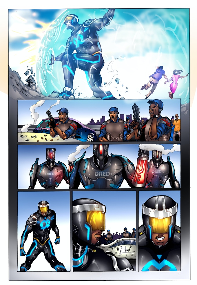 E.X.O. - The Legend of Wale Williams Part One Page 3