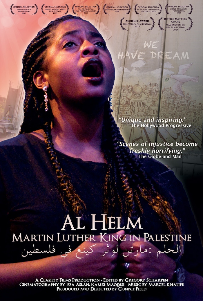 The film follows an African American gospel choir and Palestinian actors across the Holy Land amid a rising tide of non-violent struggle for change.