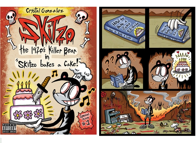 Skitzo goes on a crazy adventure through Hell to...bake a cake???
