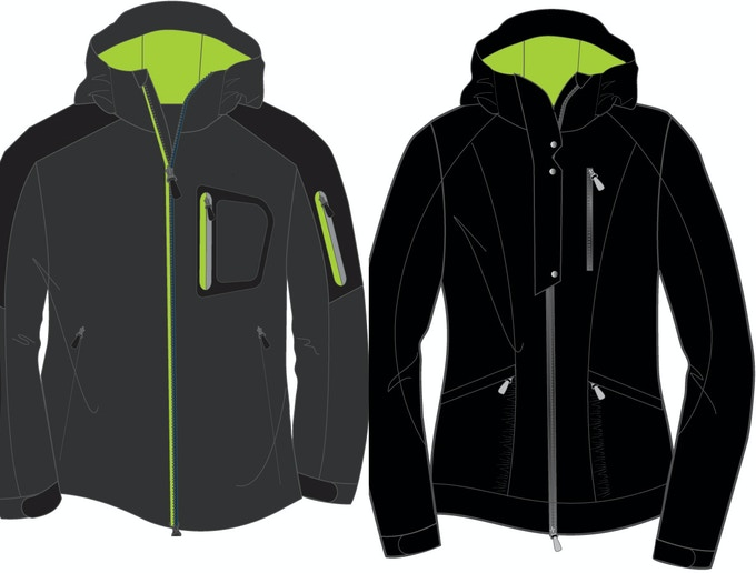Men's & Women's Soft Shell Available Colors