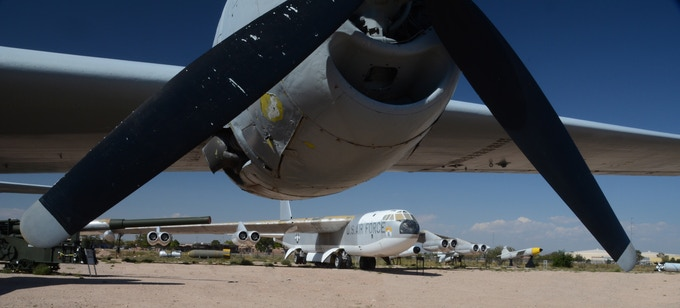 Restoration of the B-29 Superfortress at Nuclear Museum by