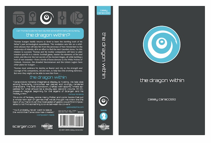 """Cover for """"The Dragon Within"""""""