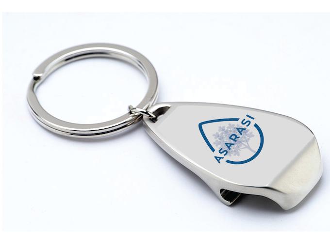 Asarasi Water Drop Key Chain and Bottle Opener