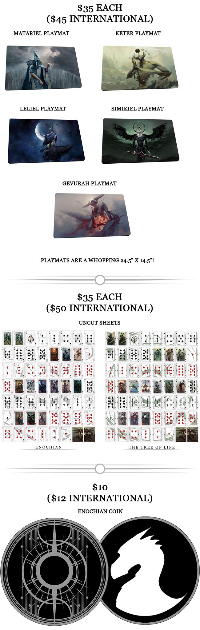 Angelarium Playing Cards by Albino Dragon — Kickstarter