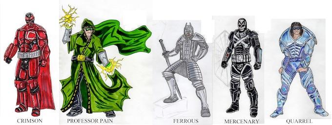 The Board of Directors - Character Concept Art by Jeff Bonesteel