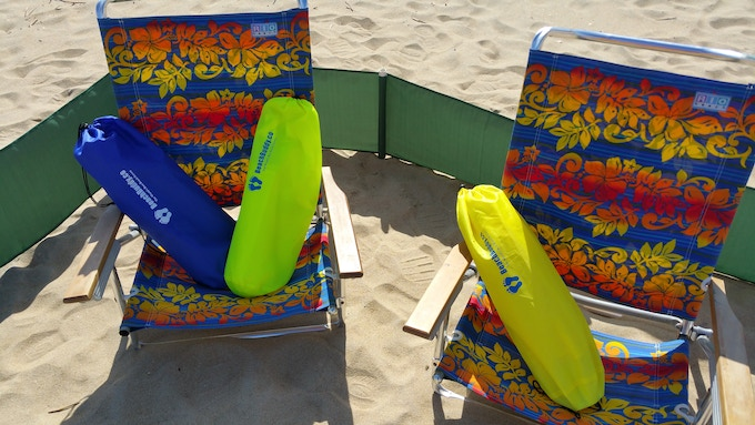 BeachBuddy.co World`s Best Beach Screen!! New Colors For Our Backers!!!