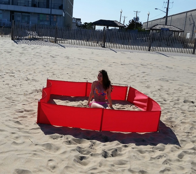 BeachBuddy.co Get $10 OFF Only Here!!! Make a Temporary Sandbox For Kids, Maintain That Space All Day While You Play And Swim!!!