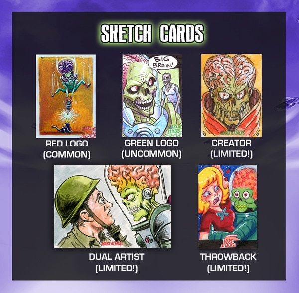 Click here to view a gallery of sketch cards on our Facebook page!