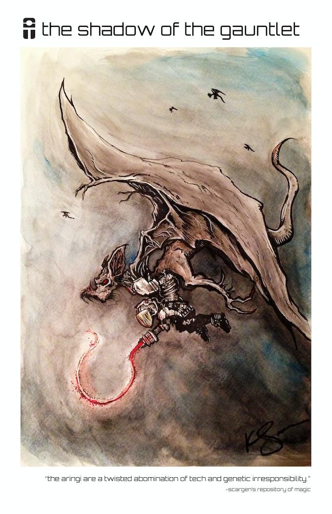 Aringi Rider by Kevin Spencer