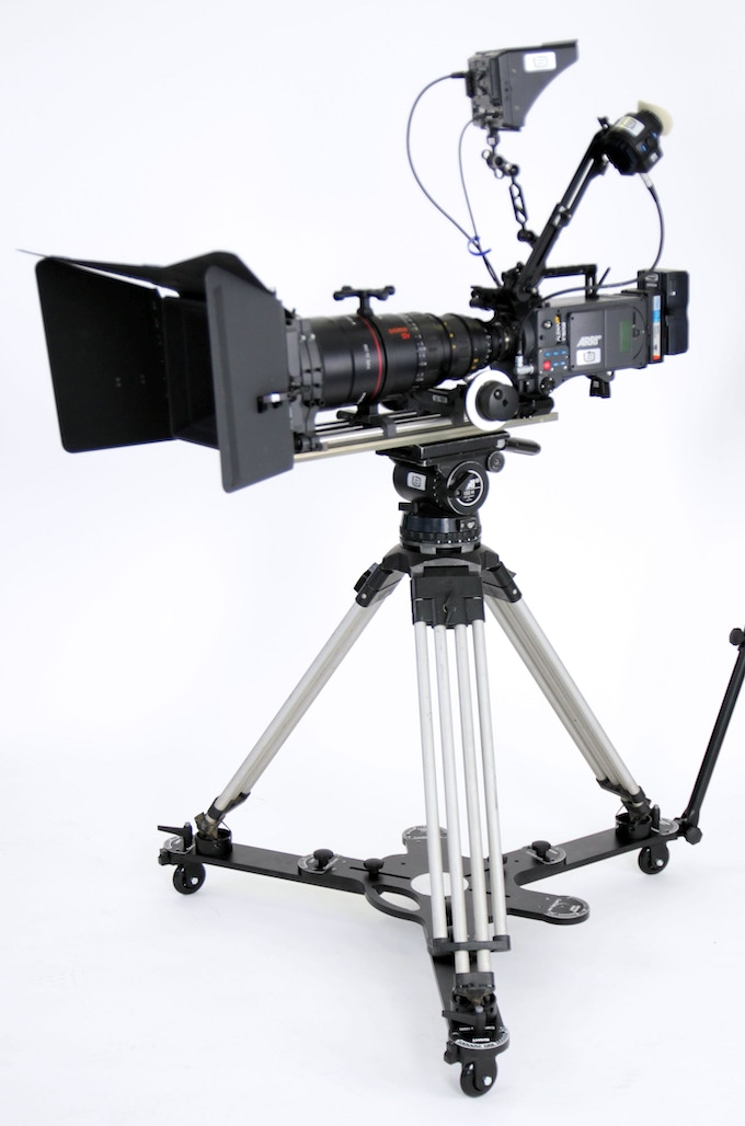 360° Orbit Dolly mode (tripod, camera, and big honkin' lens not included)