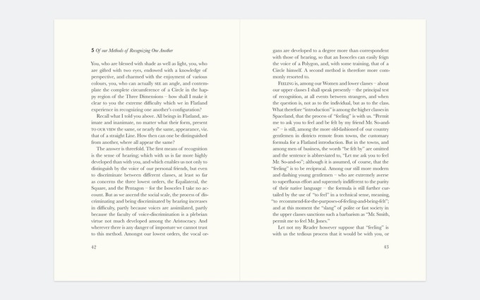 Pages 42 and 43, Chapter 5. There is still a lot of typesetting and to be done.