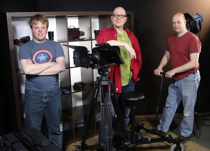The Chicago CamDolly Crew - at your service!