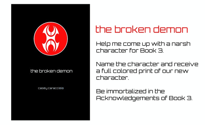 """Book 3: """"The Broken Demon"""""""
