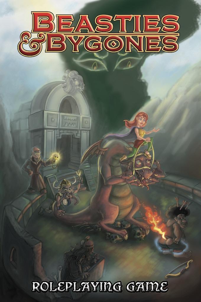 New Beasties & Bygones Cover by Eli Ziv