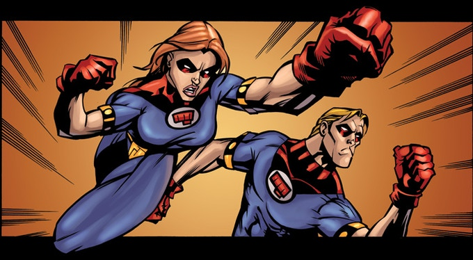 Amy Andrews as the Fist of Justice?!